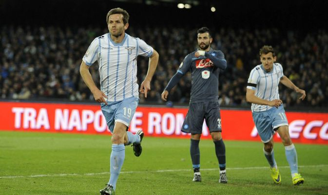 Napoli – Lazio   0-1   Lulic uomo-Coppa Italia