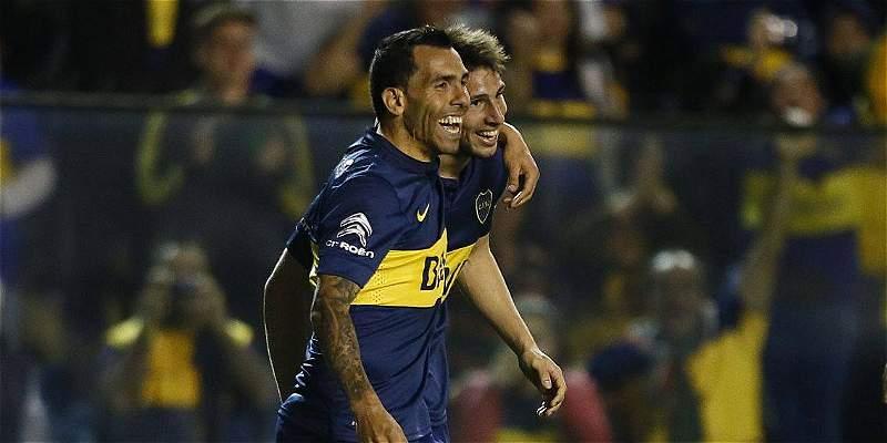 Boca Jrs – Banfield   3-0   Tevez-Calleri impazzano, e il Boca vede il titolo!