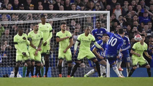 Chelsea – Manchester City   5-1   I baby di Pellegrini reggono un tempo