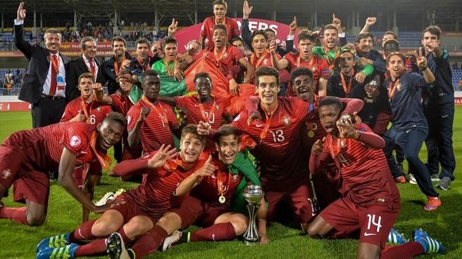 Portogallo U17 – Spagna U17   1-1 (6-5 dcr)   Il Portogallo è Campione d'Europa!