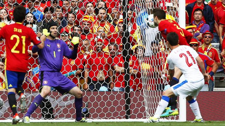 Spagna – Repubblica Ceca   1-0   Piqué la sblocca nel finale