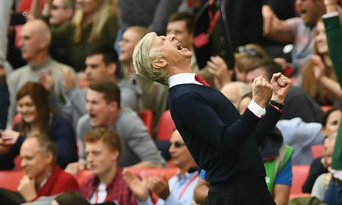 Arsenal – Manchester City   2-1 dts   Wenger raggiunge Conte, Pep al palo