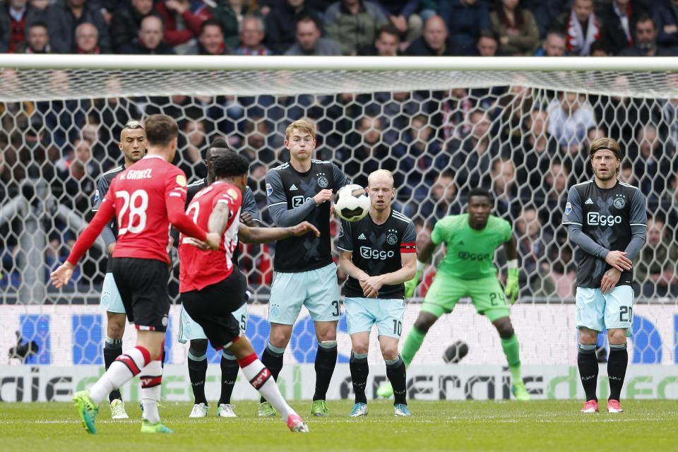 PSV – Ajax   1-0   Classico al PSV, titolo al Feyenoord?
