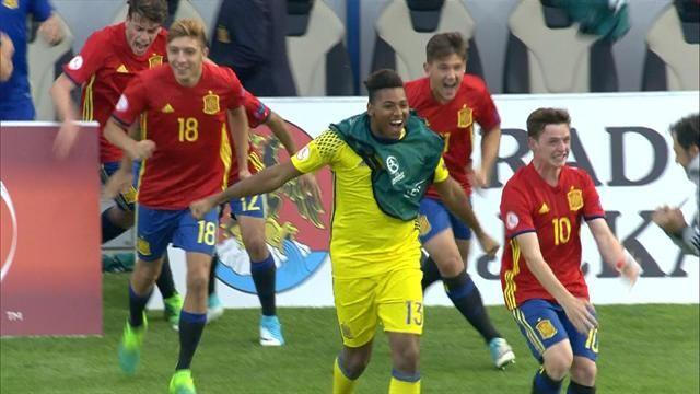 Spagna U17 – Francia U17   3-1   Francia avanti, Furie Rosse rimontano