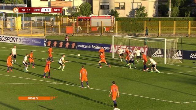 Germania U17 – Olanda U17   2-1   Ribaltone finale!