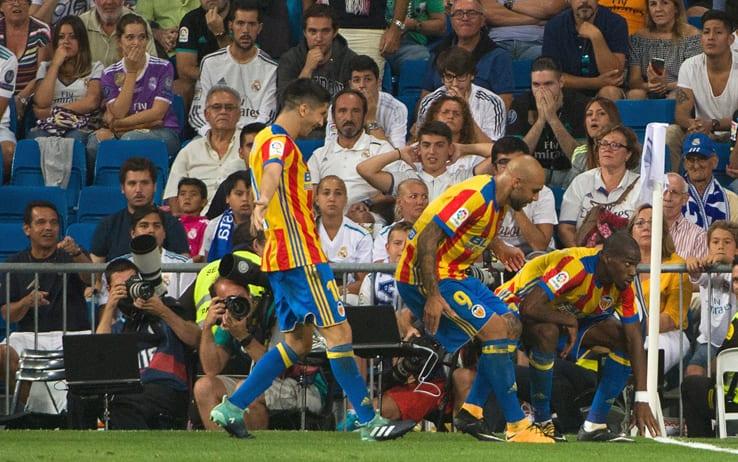 Real Madrid – Valencia   2-2   Il Kondo che non ti aspetti, lo riprende Asensio