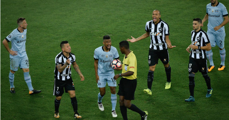 Botafogo – Gremio   0-0   Bota con l'amaro