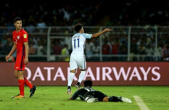 Cile U17 – Inghilterra U17   0-4   Sancho e la fame di vendetta