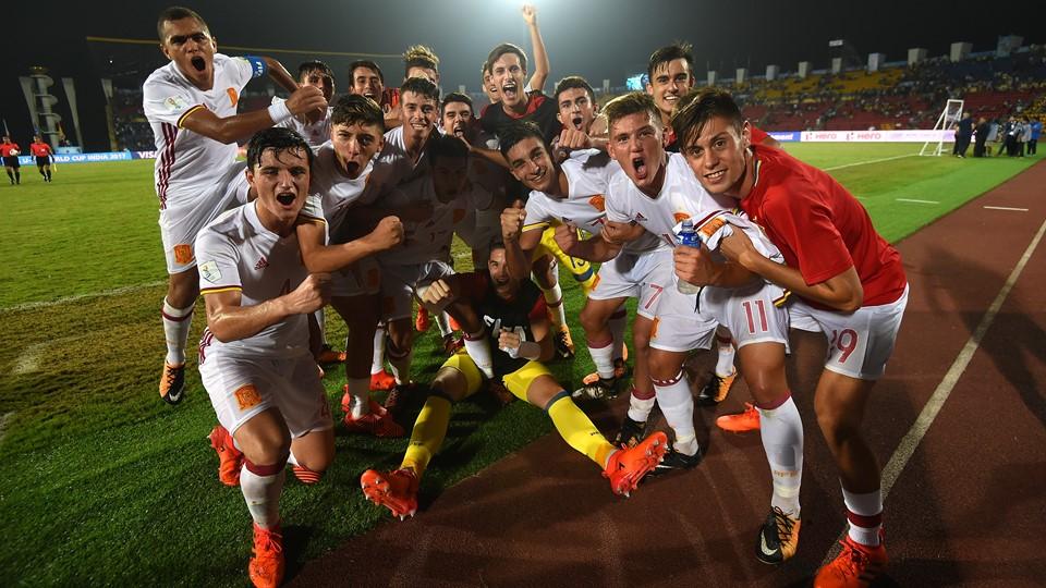 Francia U17 – Spagna U17   1-2   Stesso copione