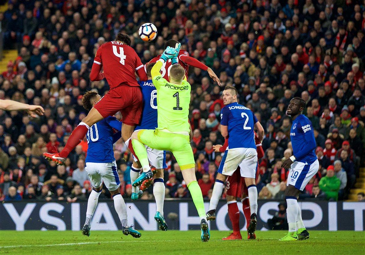 Liverpool – Everton   2-1   Van Dijk subito decisivo nel Derby
