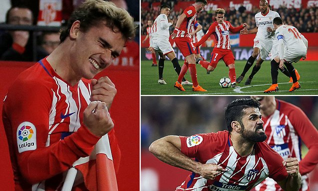 Siviglia – Atletico Madrid   2-5   Le Grand Diable