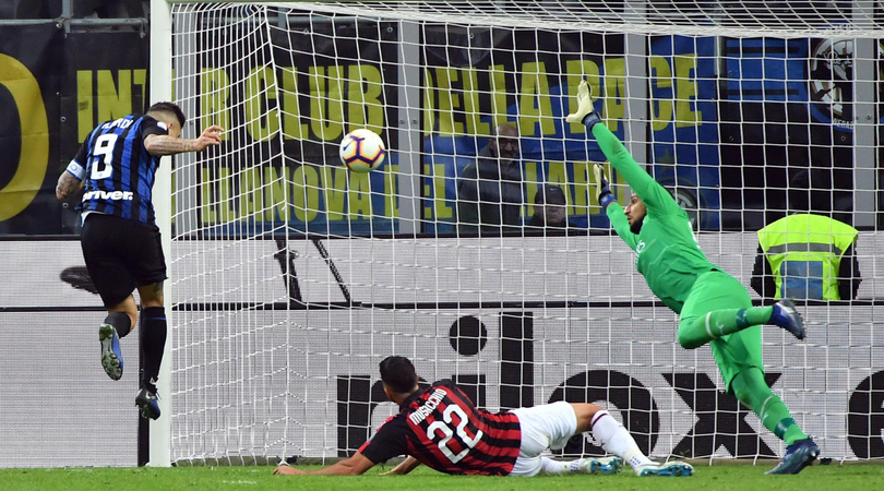 Inter – Milan   1-0   Il RE di Milano!