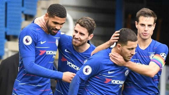 Chelsea – Fulham   2-0   Sarri vince, Ranieri ha buone risposte