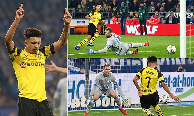 Schalke 04 – Borussia Dortmund   1-2   Jadon Kid!