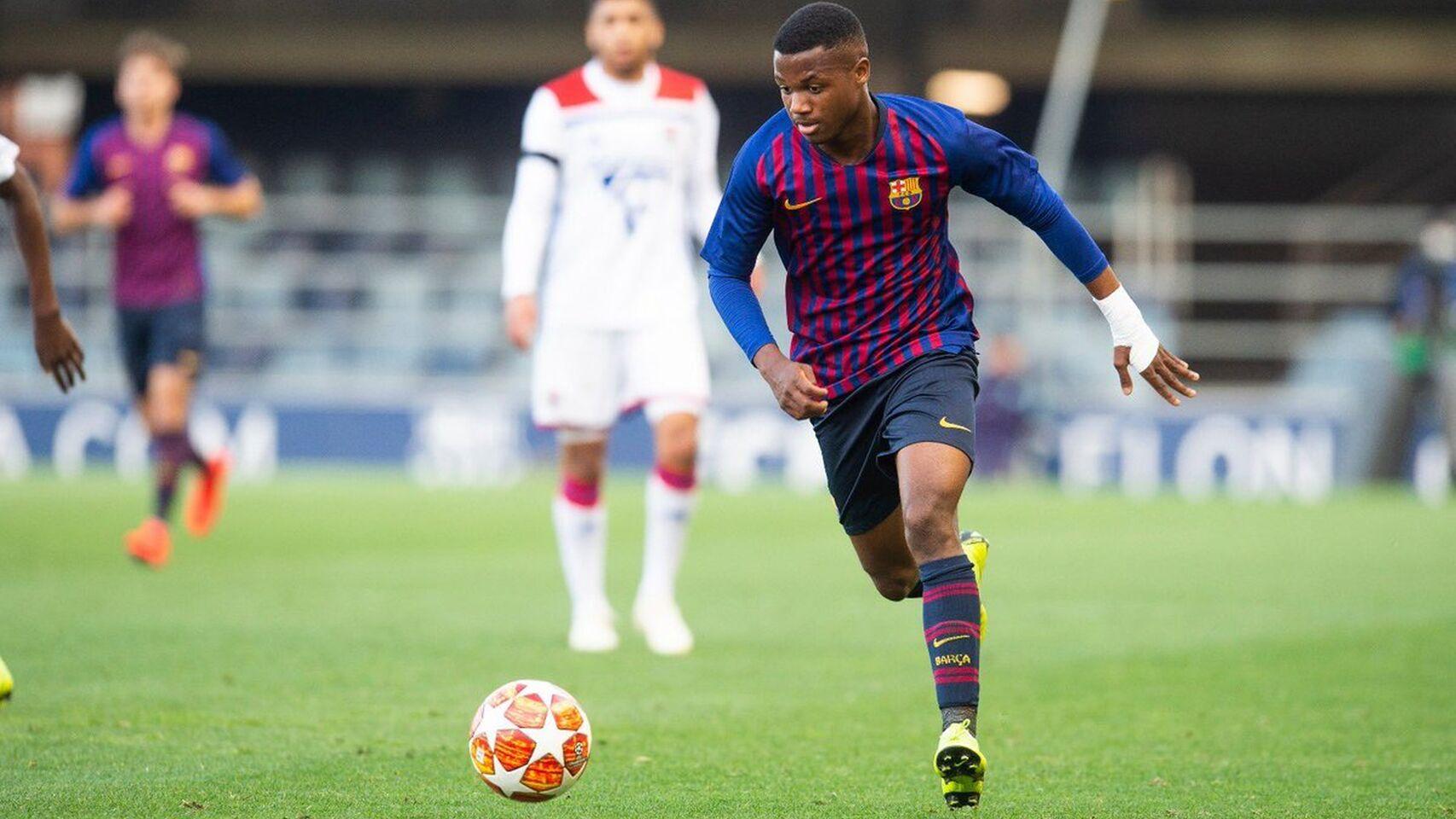 Barcellona U19 – Olympique Lione U19   3-2   Penal fatal