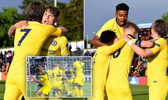 Barcellona U19 – Chelsea U19   2-2 (6-7 dcr)   Vendetta Blues