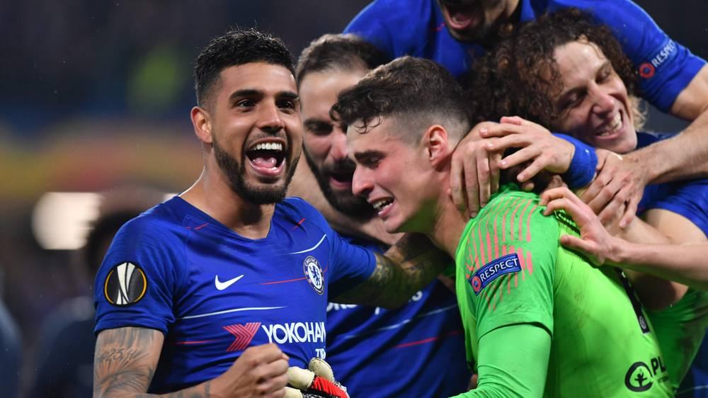 Chelsea – Eintracht Francoforte   1-1 (5-4 dcr)   Kepa Sarracinesca…