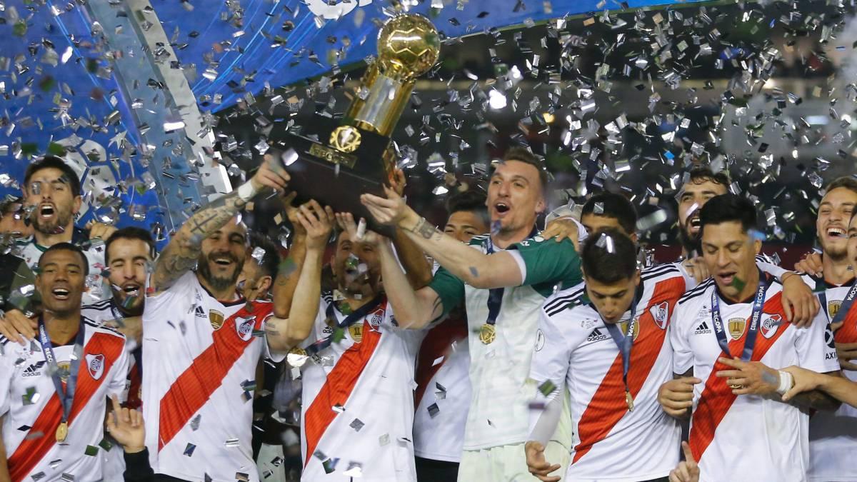 River Plate – Atletico Paranaense   3-0   Recopa ennesimo trionfo River
