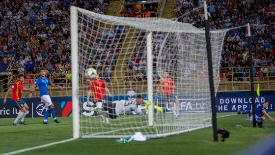 Italia U21 – Spagna U21   3-1   Grand'Italia sotto i portici