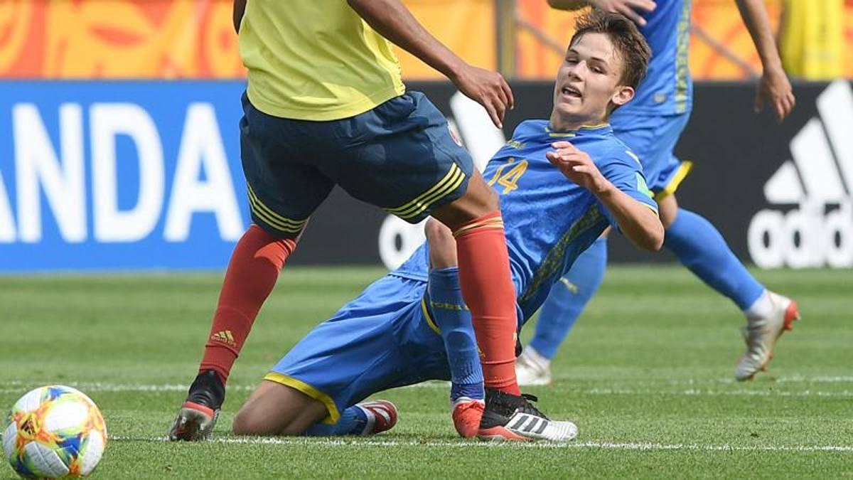 Colombia U20 – Ucraina U20   0-1   Frittata Mier, Ucraina pretendente