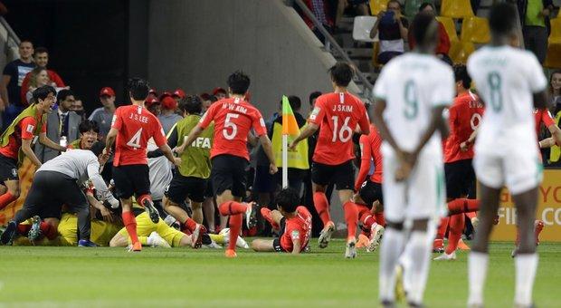 Corea del Sud U20 – Senegal U20   3-3 6-5 dcr   A tutto VAR, ma quante emozioni!