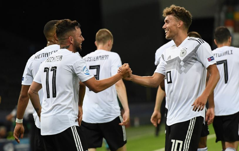Germania U21 – Danimarca U21   3-1   Belli e Richter