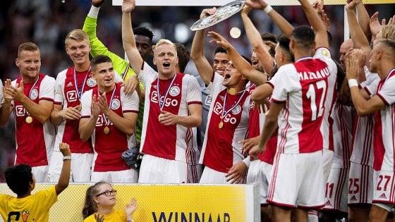 Ajax – PSV   2-0   Lampo Dolberg, gioiello Blind