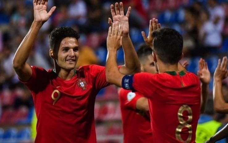 Portogallo U19 – Irlanda U19   4-0   Formalità portoghese, scorpacciata Ramos