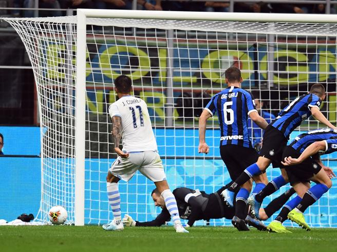 Inter – Lazio   1-0   Testa d'oro