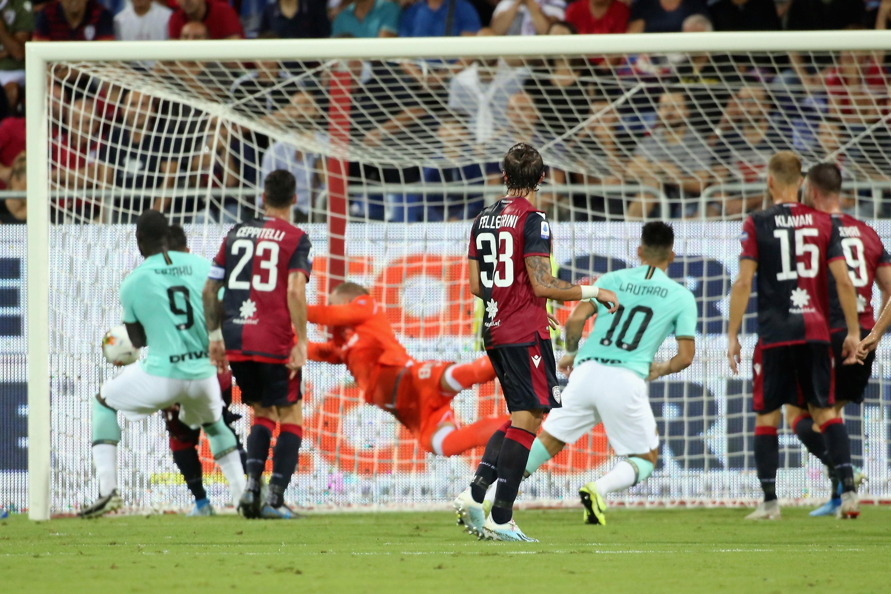 Cagliari – Inter   1-2   Numero giusto sulla ruota di Sensi
