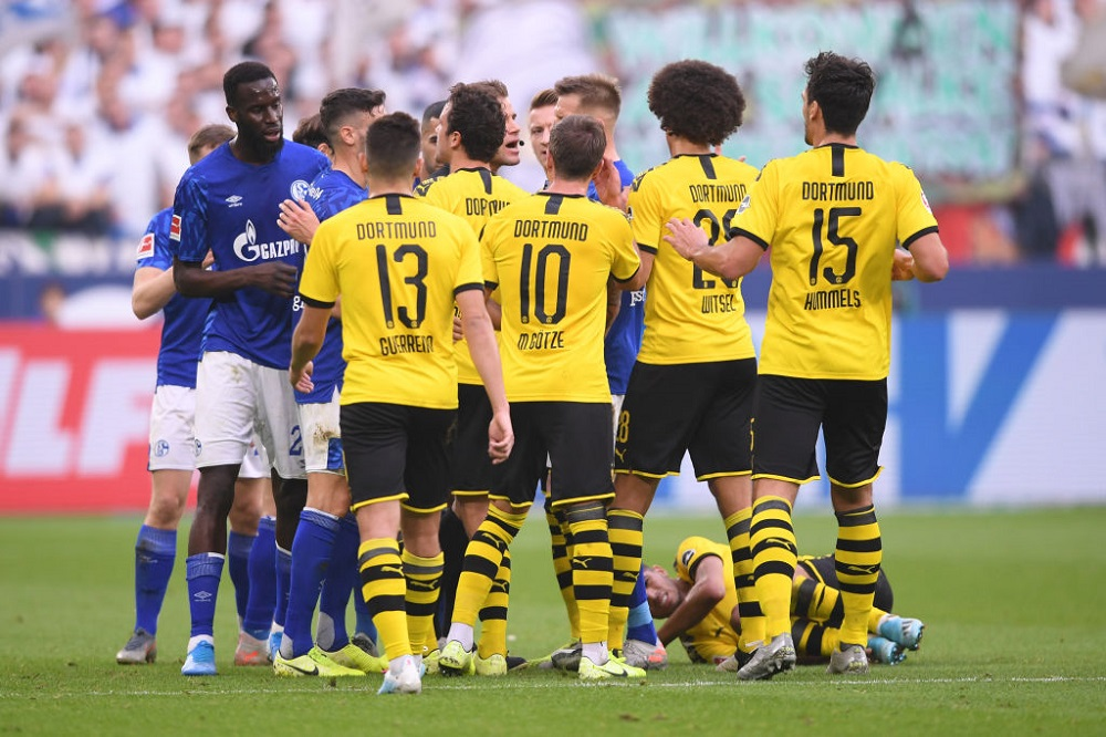 Schalke 04 – Borussia Dortmund   0-0   Noia latente