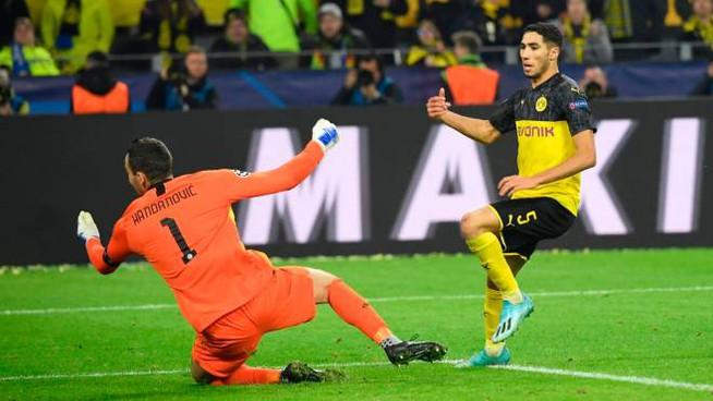 Borussia Dortmund – Inter   3-2   Dalle stelle al quasi fuori, che Hakimi!