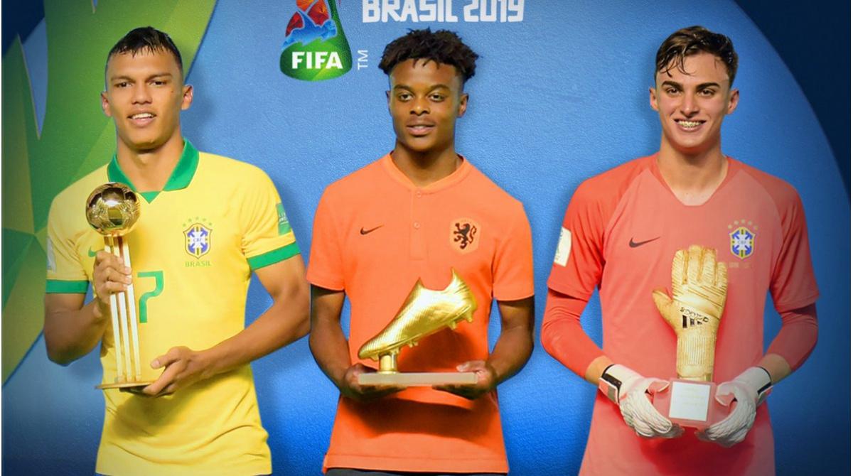 TOP 11 4-3-3 – TOP 3 PER SQUADRA Mondiale U17 2019
