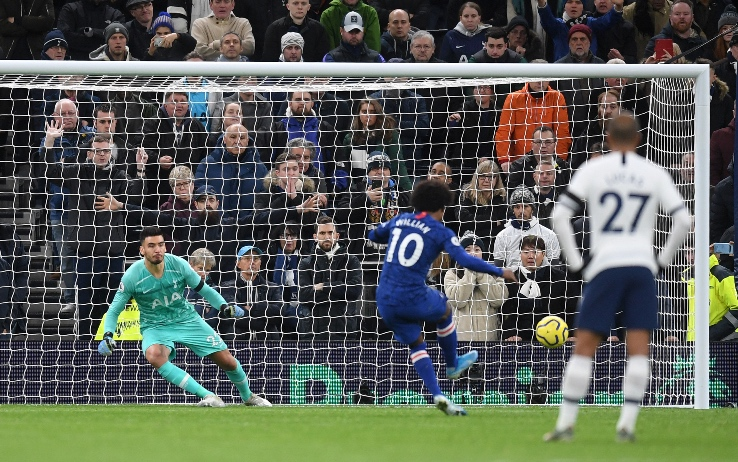 Tottenham Hotspur – Chelsea   0-2   Maghetto-Willian