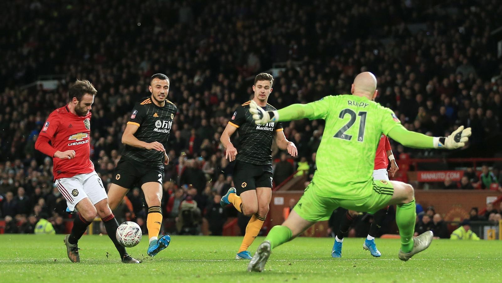 Manchester UTD – Wolverhampton   1-0   Perla di Mata