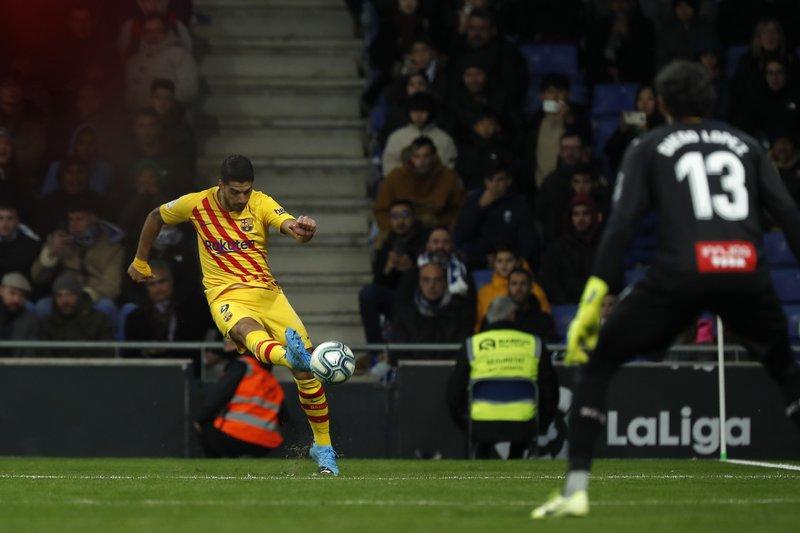Espanyol – Barcellona   2-2   Il Barca inciampa nel Derby e il Real l'appaia
