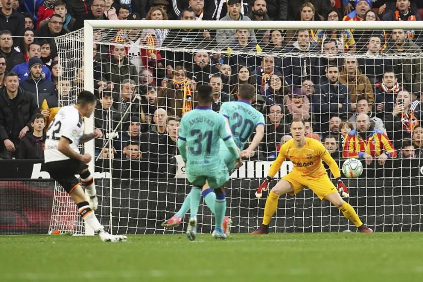 Valencia – Barcellona   2-0   Il Barca non è guarito, maxi Maxi!