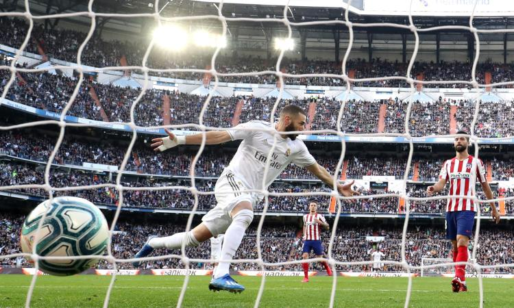 Real Madrid – Atletico Madrid   1-0   Il Derby di Karim
