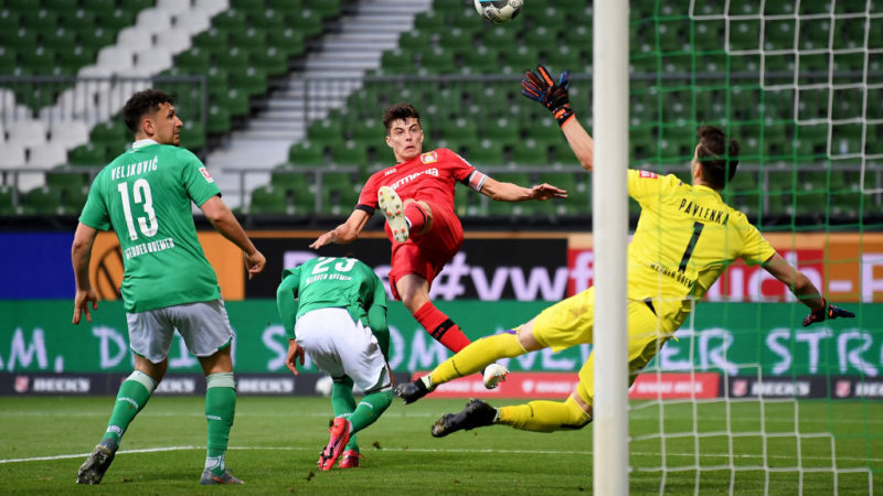 Werder Brema – Bayer Leverkusen   1-4   Havertz riprende da dove interrotto