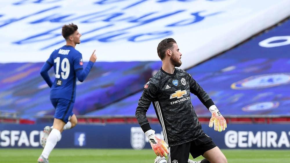 Manchester UTD – Chelsea   1-3   Finale per i Blues, UTD tradito da De Gea