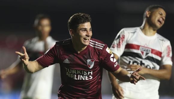 Sao Paulo – River Plate   2-2   Il River fa tutti i GOL e gioca meglio, sempre tra i favoriti