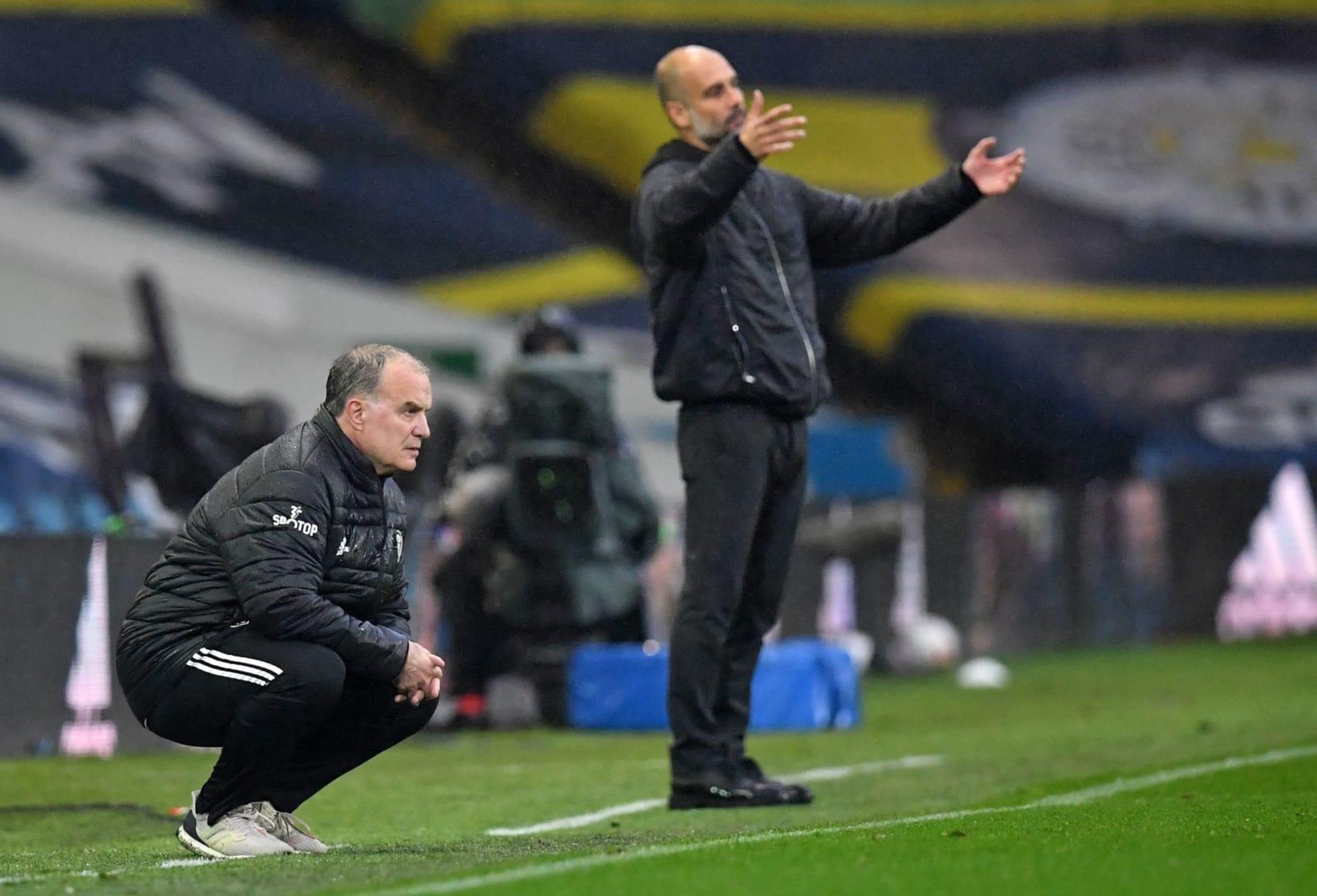 Leeds – Manchester City   1-1   Sfida tra maestri