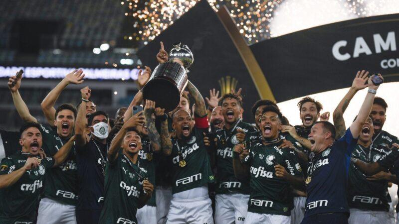 Palmeiras – Santos   1-0   Felipe Melo, Luiz Adriano e Gustavo Gomez alzano la Libertadores!