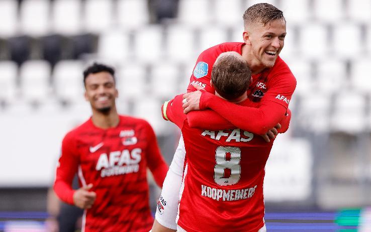 AZ Alkmaar – PSV   2-0   Lotta Champions, titolo Ajax