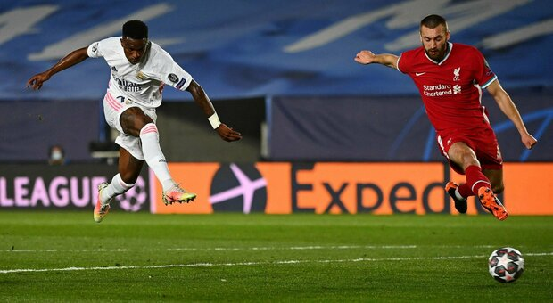 Real Madrid – Liverpool   3-1   Vinicius Junior star, Salah speranza dei Reds